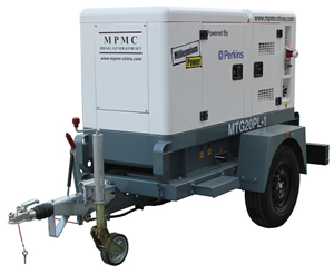 Trailer Generator Powered by Perkins